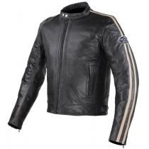 Bunda na motorku Tschul 640 čierno-béžová vypredaj