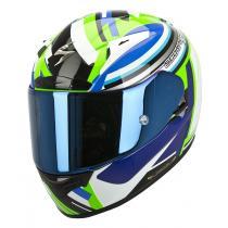 Integrálna prilba na moto Scorpion EXO-2000 Avenger zeleno-modrá vypredaj
