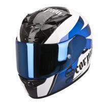 Integrálna prilba Scorpion EXO-710 Knight bielo-modrá vypredaj