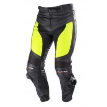 Nohavice na motorku Tschul M-60 čierno-fluo žltá vypredaj
