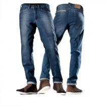 Kevlarové jeansy na motorku Shima Gravel Indygo modrej predĺženej vypredaj