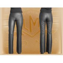 Kožené bedrové moto nohavice Klasik - dámske vypredaj
