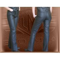 Kožené moto nohavice Klasik - dámske vypredaj