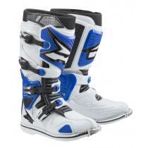Moto topánky AXO A2 bielo-modré vypredaj