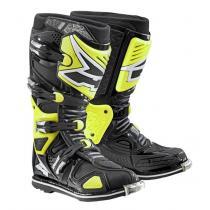 Moto topánky AXO A2 čierno-fluo žlté vypredaj