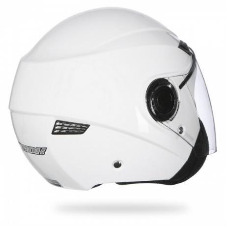 Prilba na motorku NOX N630 biela vypredaj