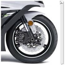 Reflexná páska na ráfiky Proo Bikers biela vypredaj