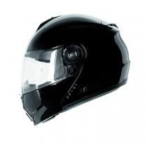 Vyklápací prilba na motorku Ozone FP-01 čierna lesklá + Pinlock vypredaj